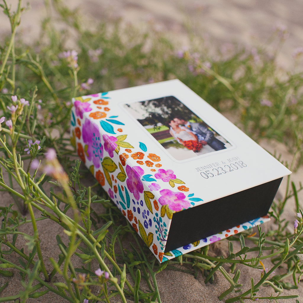 Neon Love Keepsake Box | showcasing the beautiful images of Nicole Eastman Photography