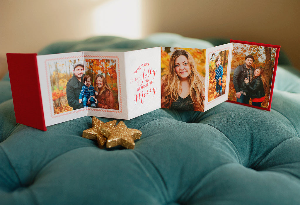 Mpix Accordion Minis Album designed by EW Couture Collection