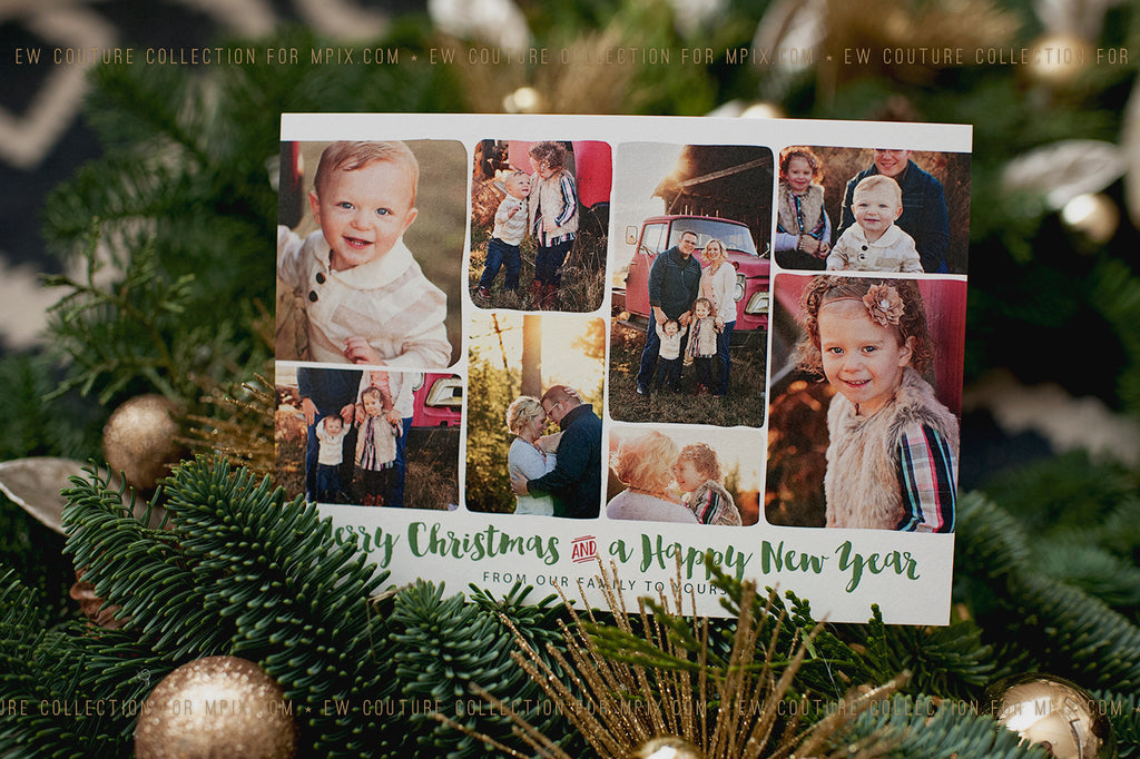 EW Couture Collection Christmas and holiday cards for MPIX