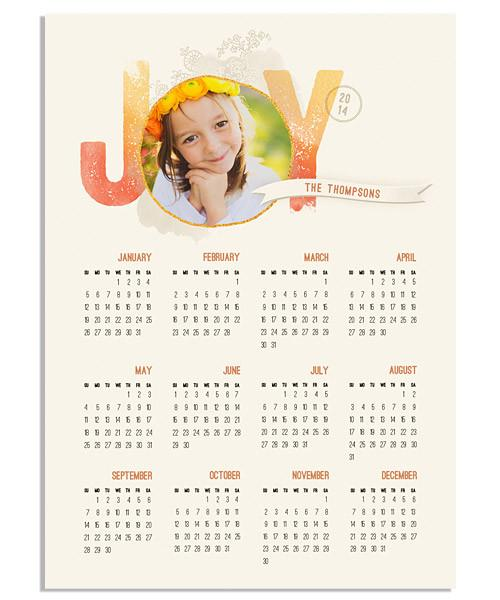 Joy 5x7 Press Magnet - 2017-2020