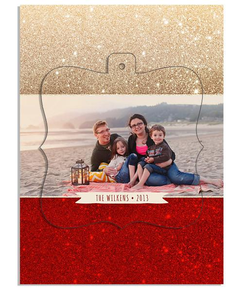 Merlot Ornate Luxe Pop Card