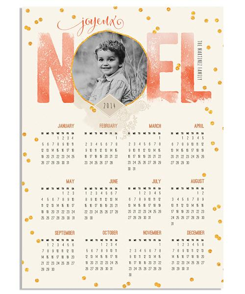 Noel 5x7 Press Magnet - 2017-2020