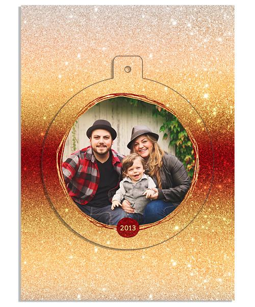 Sunset Circle Luxe Pop Card