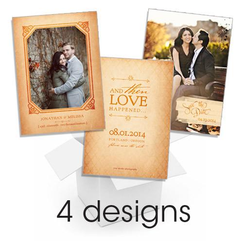 Amber Save the Dates Mix & Match Bundle