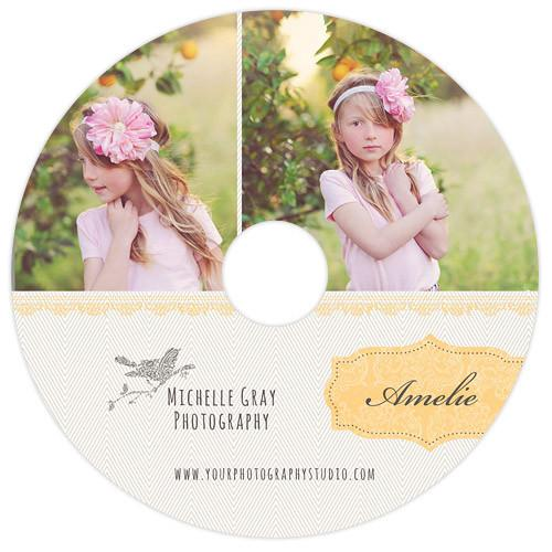 Honey Bee Marketing Single DVD Impression Case & Label