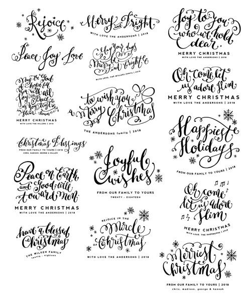 From the Heart Christmas Overlays Bundle