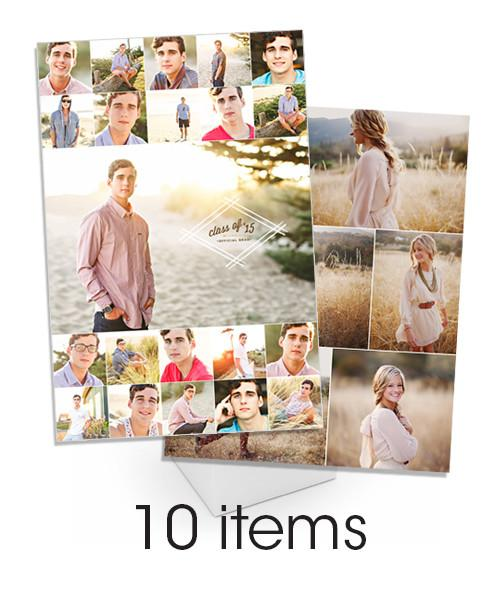 Classic Collage Gallery Wrap and Print Bundle