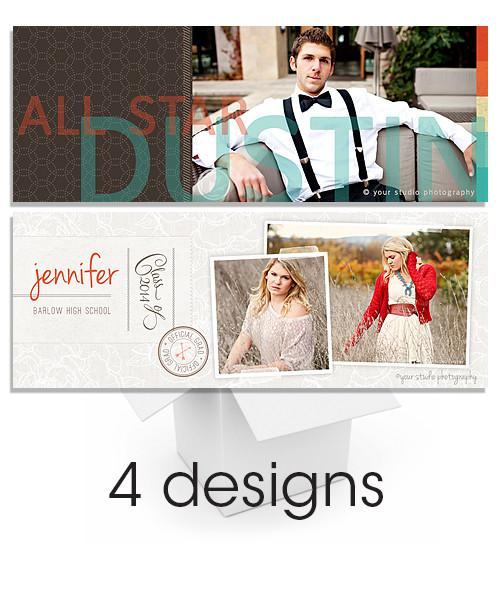 Senior Facebook Timeline Cover Bundle