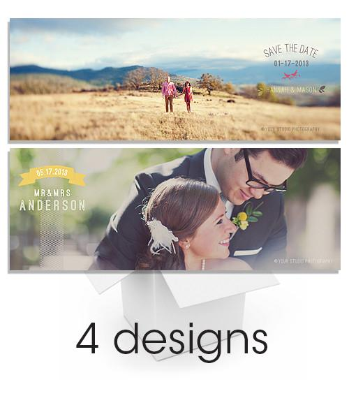 Wedding Facebook Timeline Cover Bundle