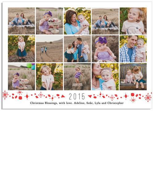 A Year in our Life 7x5 Flat Card
