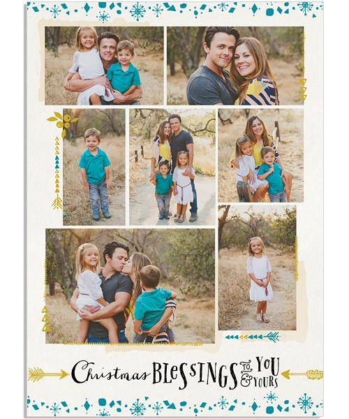 Family Scrapbook 5x7 Flat Card