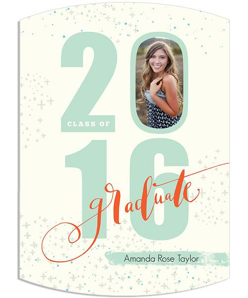 It's Your Year Senior Announcement 5x7 Arc Luxe and Flat Card