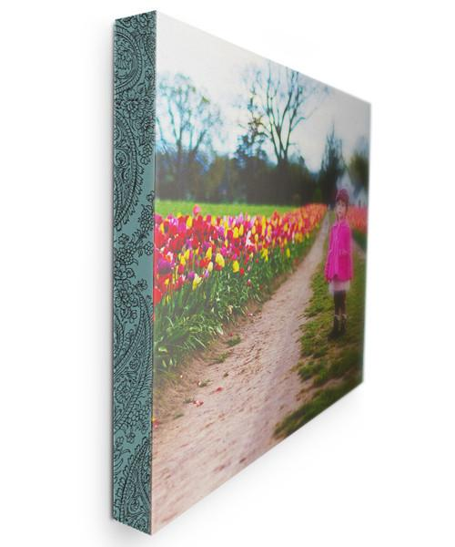 Organic Floral Custom Edge Gallery Wraps