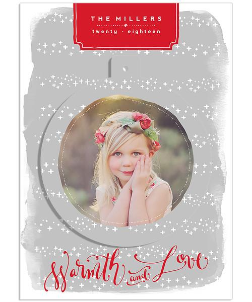 Silver Falls 5x7 Circle Luxe Pop Card