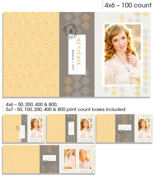 Soleil 4x6 and 5x7 Custom Proof Boxes