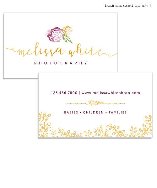 Minis Marketing Business Card