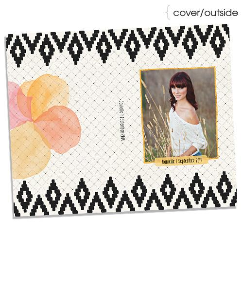 Danielle 4x8 Accordion Book