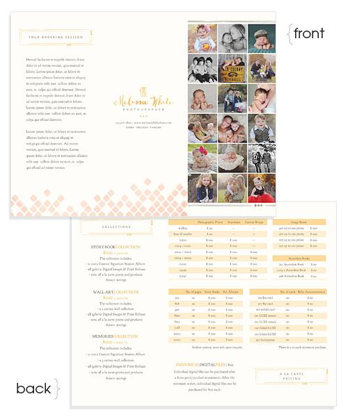 Rose Prices Tri-Fold Sell Sheet Brochure