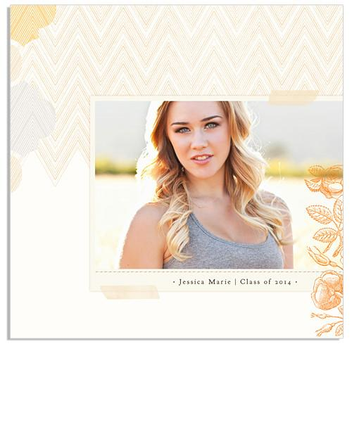 Moroccan and Chevron 12x12 Miller's Signature Album