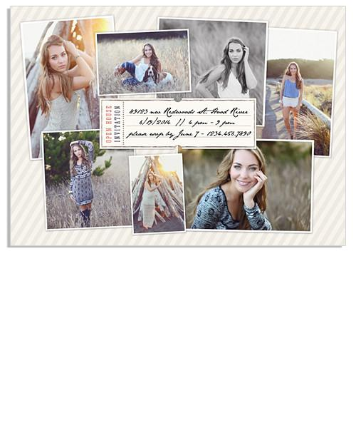 Patricia Retro Senior 7x5 Flat Card