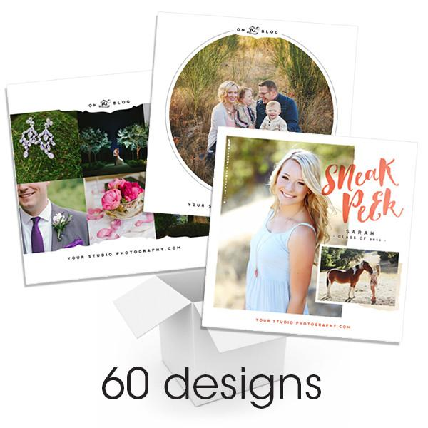 Sneak Peek Three Collection Social Media Bundle
