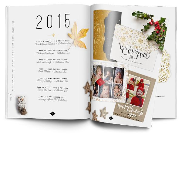 EW Couture 2015 Christmas Holiday Templates Collection Catalog-FREE