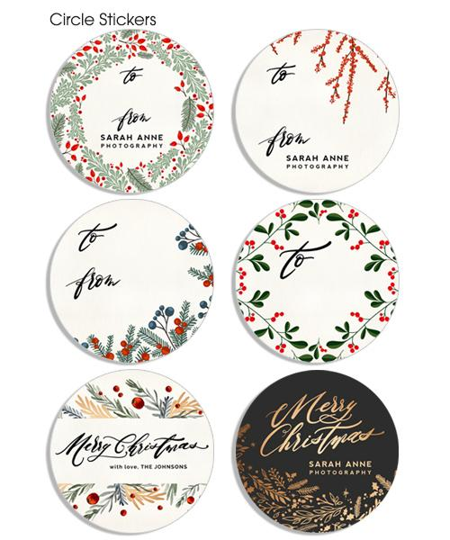 Big Holiday Mix and Match Sticker Bundle
