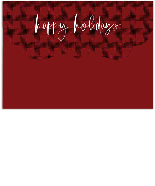 Favorite Holidays 7x5 Folded Luxe Card, Address Label and Circle Sticker