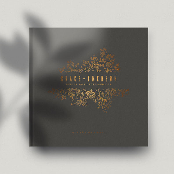 Flower Cathedral 12x12 Miller's Signature Album Custom Illustrated Cover
