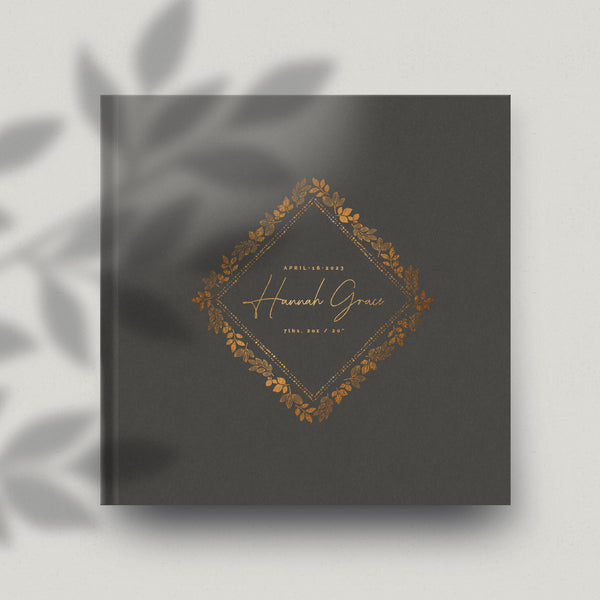 Leafy Organics 12x12 Miller's Signature Album Custom Illustrated Cover