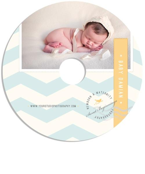 Little Boy Blue Single DVD Impression Case and Label