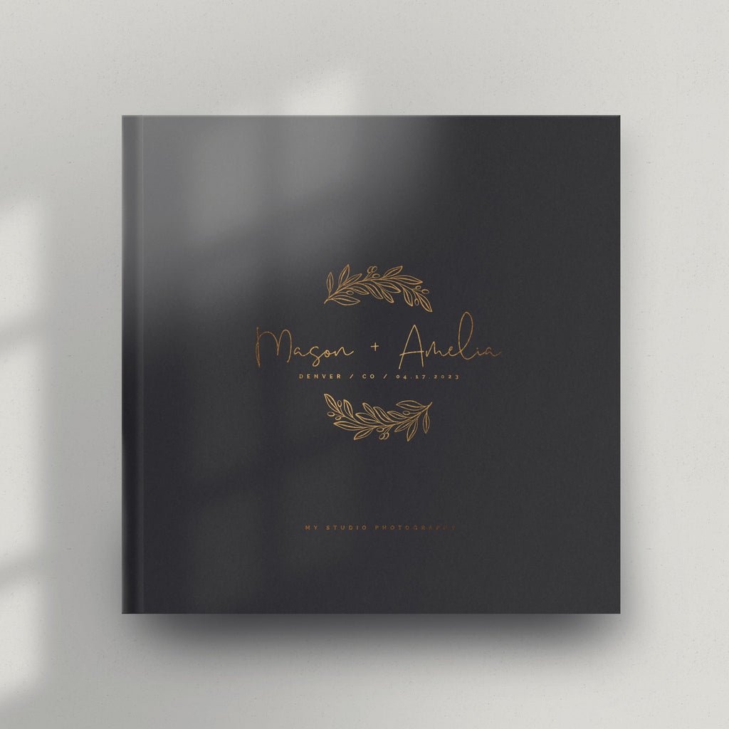 Olive Branch 12x12 Miller's Signature Album Custom Illustrated Cover