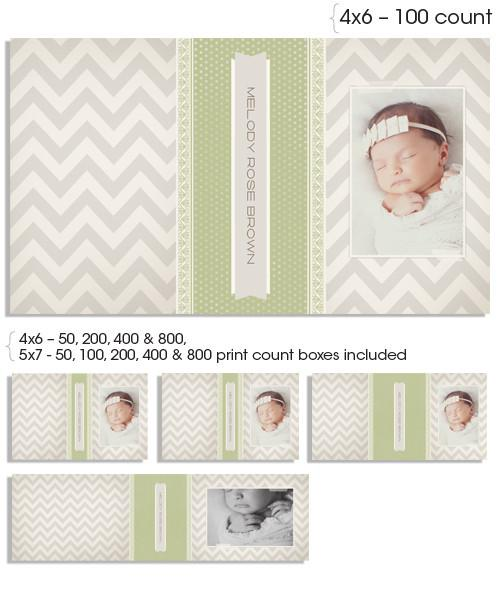Little Darling 4x6 and 5x7 Custom Proof Boxes