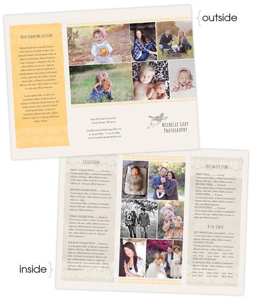 Honey Bee Marketing Tri-Fold Brochure Sell Sheet