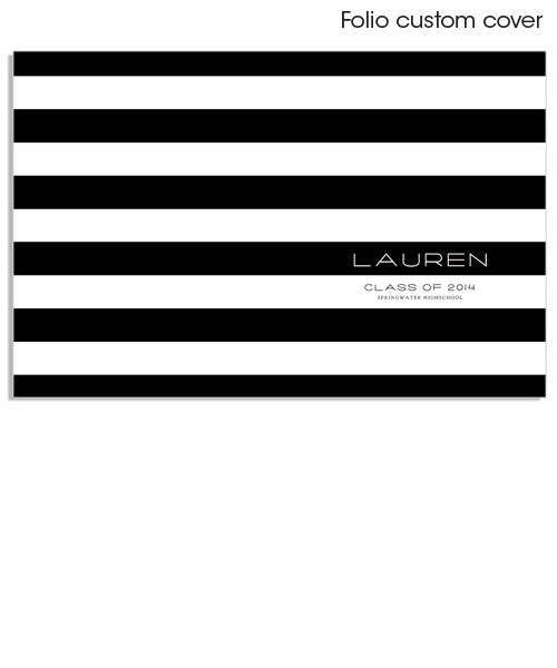 Stripes And Class 5x7 Image Folio