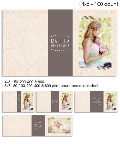 Soft Whisper 6x4 and 7x5 Custom Proof Boxes