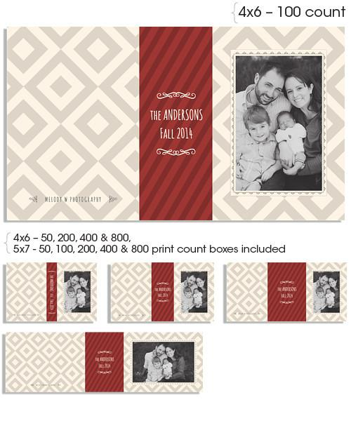 Squared 4x6 and 5x7 Custom Proof Boxes