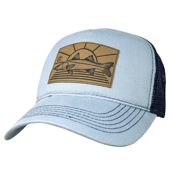 Retro Trucker Pocket Cap - Snook Sunset Patch