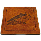 Coasters Set - Leather - Big Game Fishing