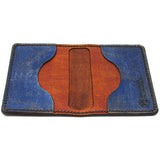 Hand Stitched Leather Wallet - For God and Country