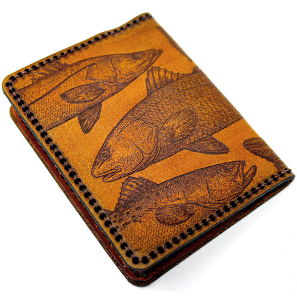 Hand Stitched Leather Wallet -  Inshore Slam