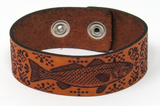 Women's Leather Bracelet - Redfish Fancy