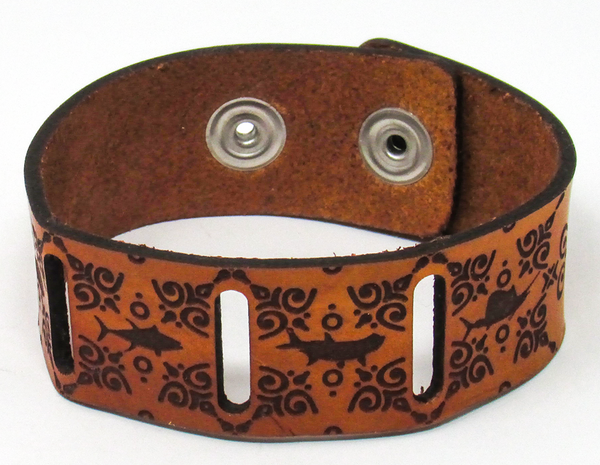 Women's Leather Bracelet - Big Fish Fancy