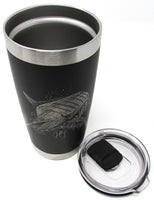 Fighting Marlin 20oz. Insulated Tumbler