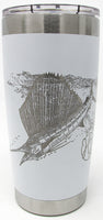 20oz. Insulated Tumbler - Sail She Goes