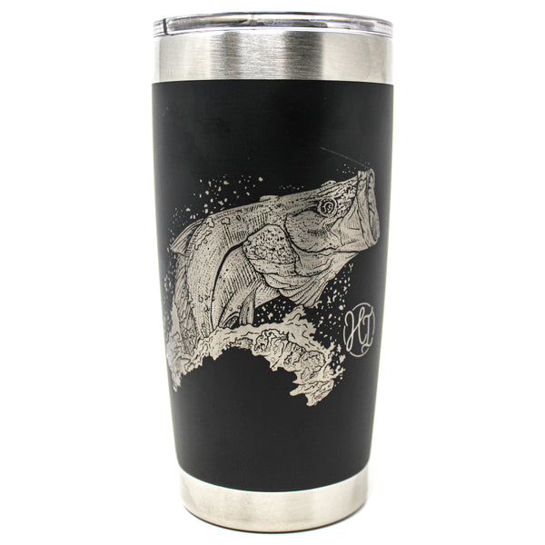 20oz. Insulated Tumbler - Snook Jump