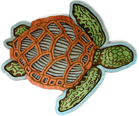 Wall Art - Sea Turtle 3D Art