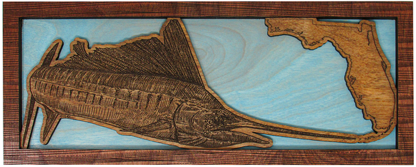Wall Art - Sail FL Series 3D Wood Art
