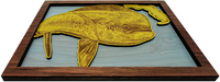 Wall Art - Mahi FL Series 3D Wood Art