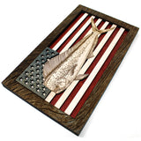 Wall Art - Mahi American Flag 3D Wood Art